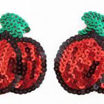 love in leather pastie – cherry