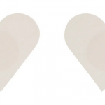 love in leather pastie – plain heart
